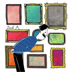 La dictée d'Archibald : Le mystère des aquarelles