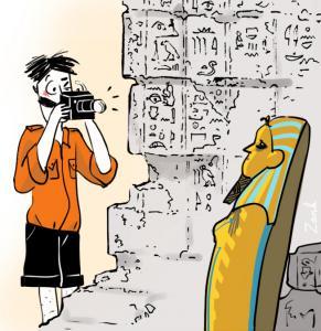 La dictée d'Archibald - L'Egypte au logis